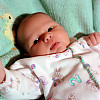 Kayla at 3 weeks